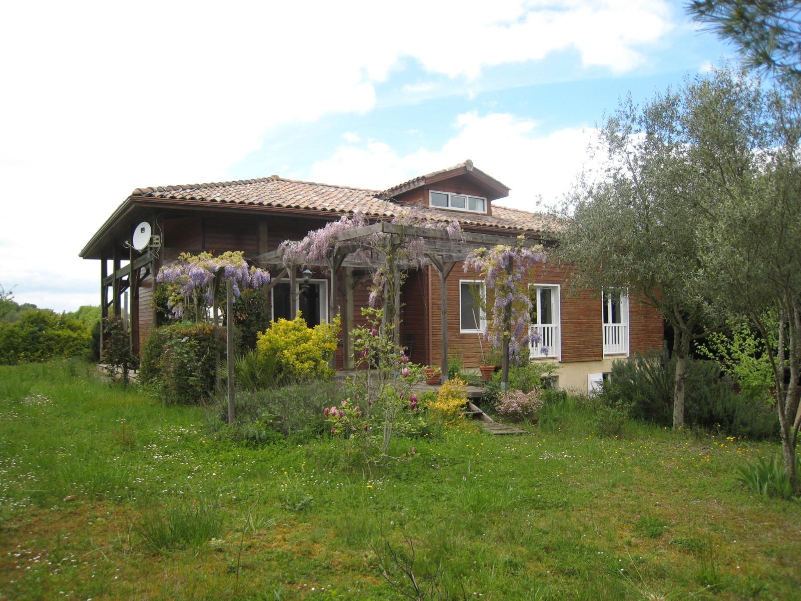 Vente maison ossature bois for Villa ossature bois